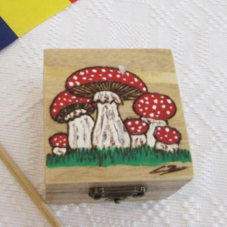 Casete pictate  cu ciupercute PUB-08-IMA